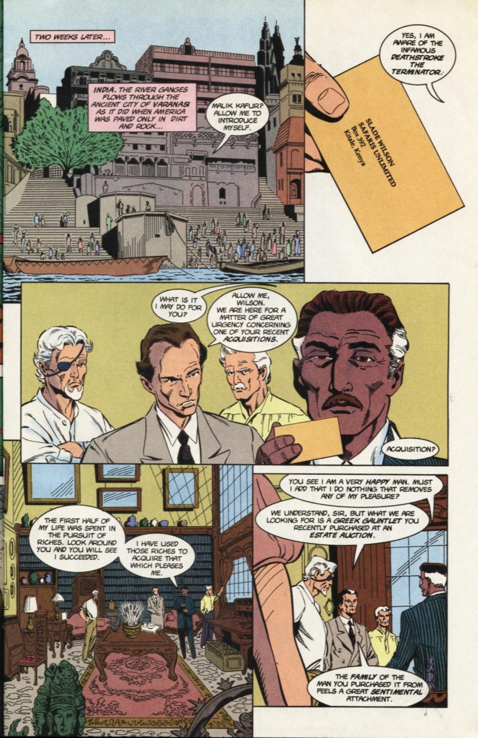 Deathstroke (1991) Issue #31 #36 - English 9