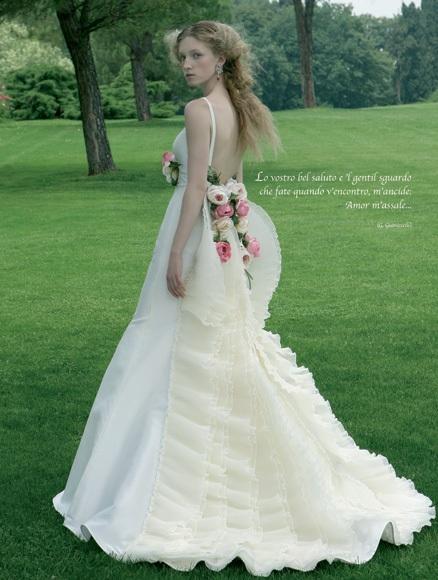 Luxus Brautkleider Online Blog: Farbige Brautkleider