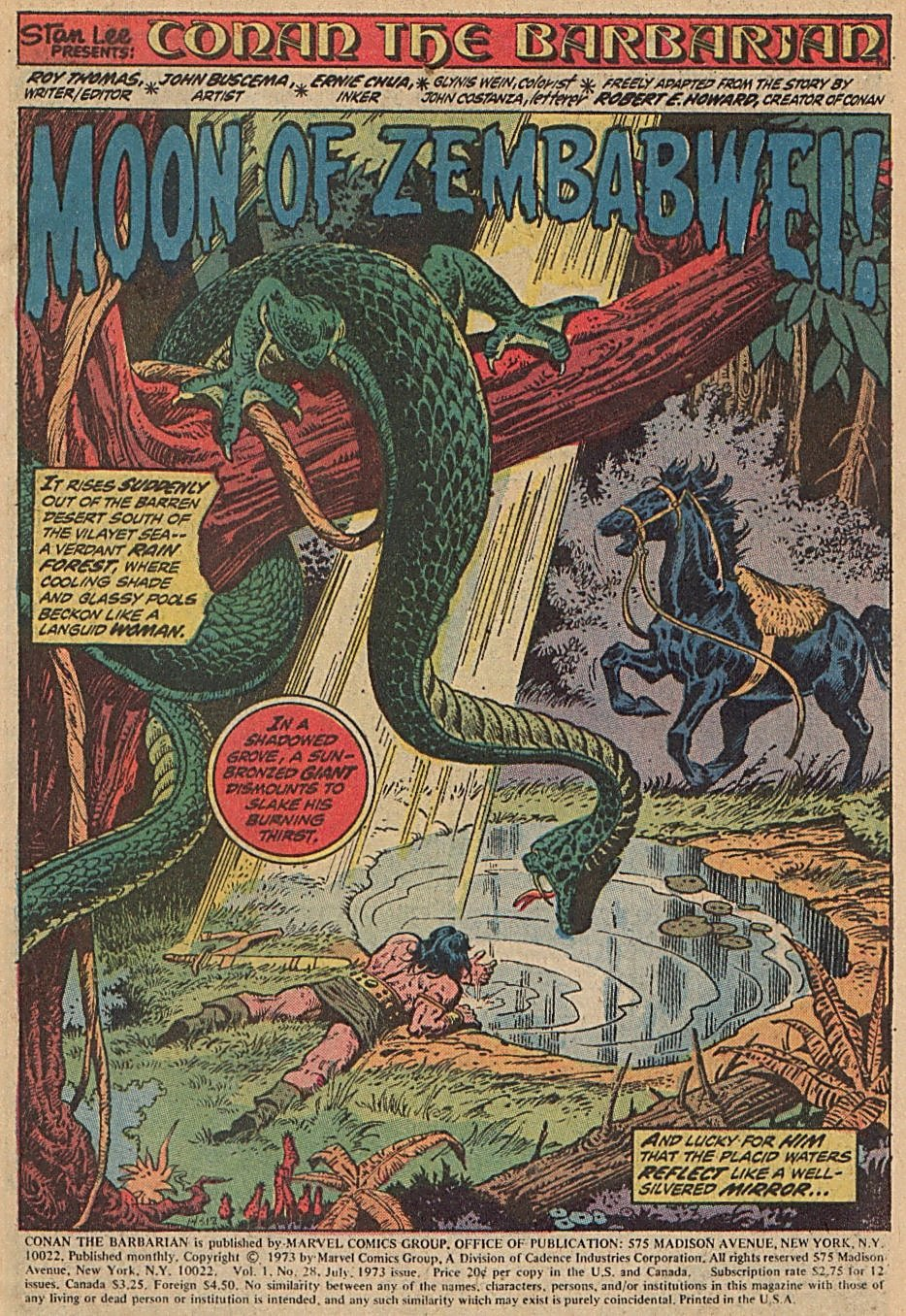 Conan the Barbarian (1970) Issue #28 #40 - English 2
