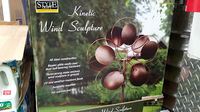 Style Craft Garden Accents Kinetic Wind Sculpture for the backyard