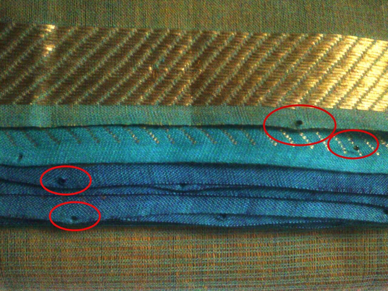 Check Handloom sarees