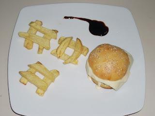 cheeseburger per un brunch