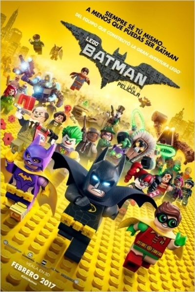 Poster de LEGO Batman: La Película