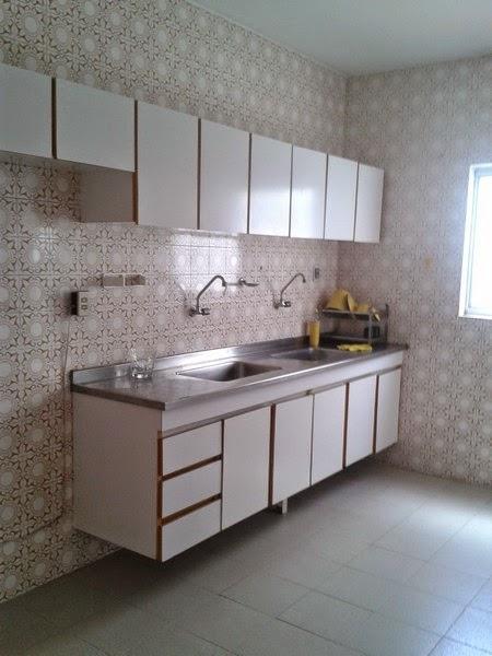 Cozinha do 03 Quartos com Suíte na Pituba em Salvador
