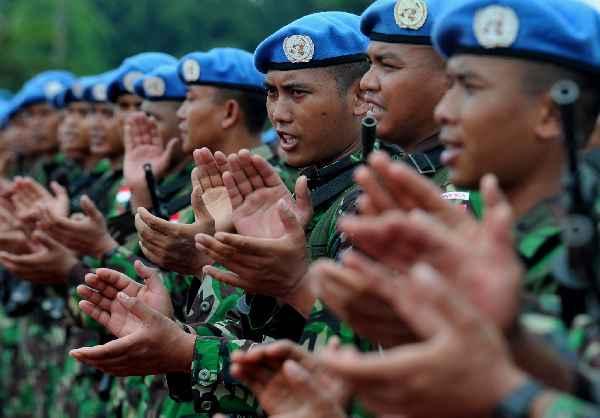 Panglima TNI Berangkatkan Satgas TNI ke Lebanon
