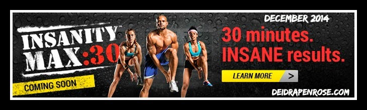 Insanity Max 30- New release