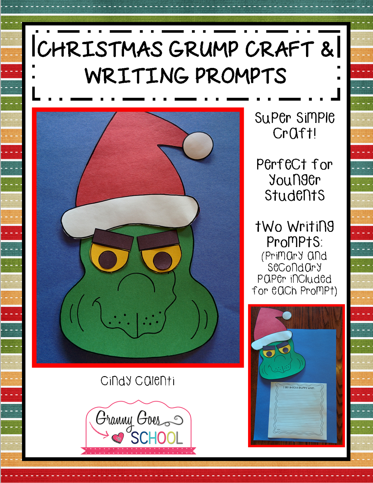 http://www.teacherspayteachers.com/Product/Christmas-Grump-Craft-and-Writing-Propmts-1601299