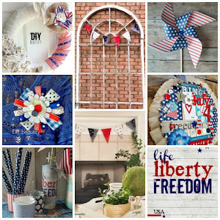 Patriotic Project Inspiration for you! Check out this fabulous selection of DIY projects at DIY beautify!