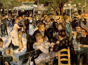 Le Moulin de la Galette (1876) By Pierre Auguste Renoir