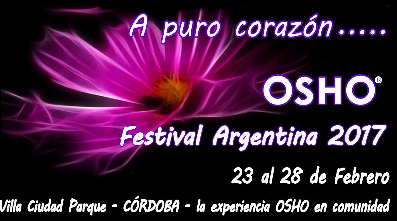 OSHO Festival Argentina 2017