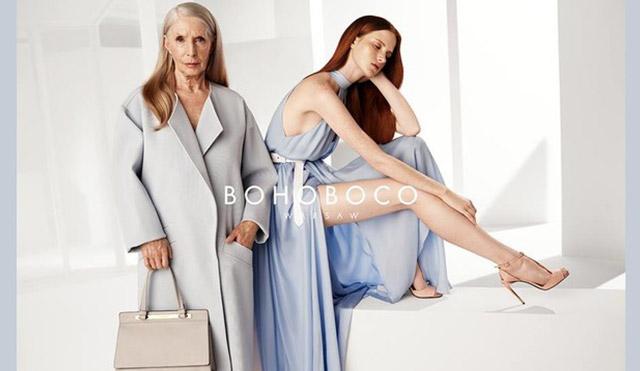 zdjęcie z kampanii bohoboco moda po 50-tce