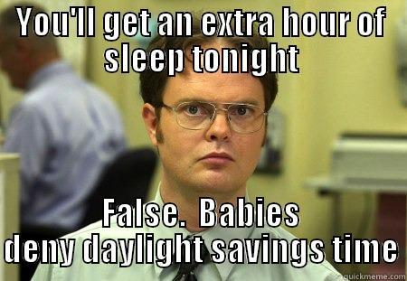 Dwight Schrute Daylight Saving meme
