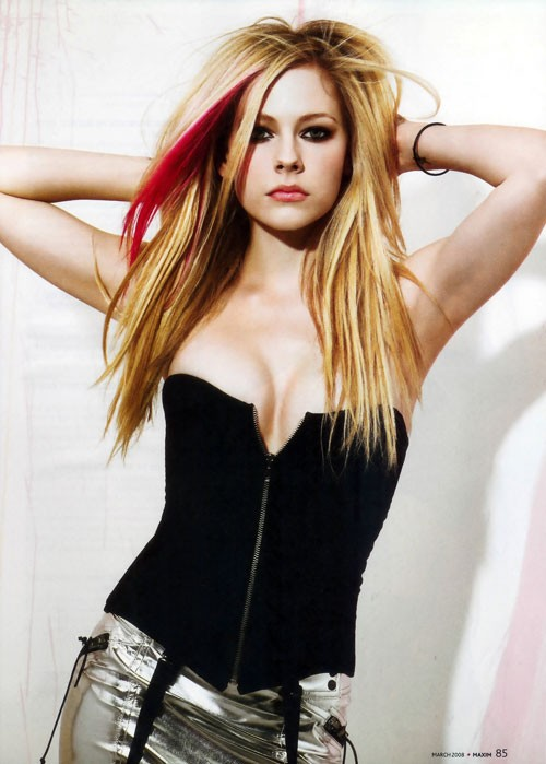 avril lavigne hairstyles