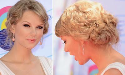 Taylor Swift penteado