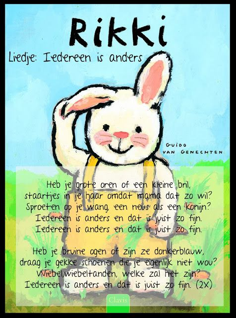 Liedje / Iedereen is anders