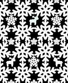 free snow pattern grey - śnieg i reniferki szare