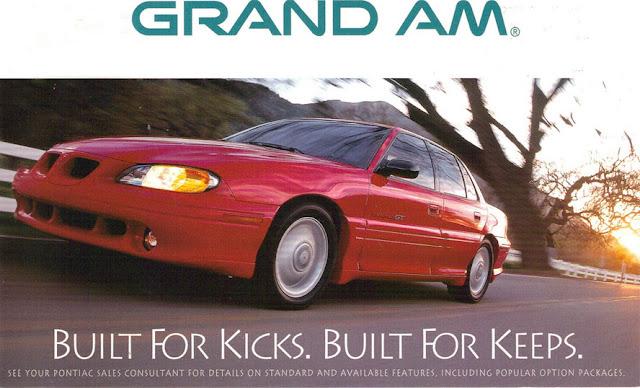 ポンティアック・グランダム 3-4代目 | Pontiac Grand Am (1985-98)