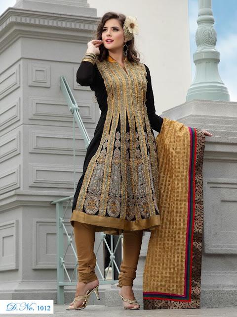 Designer Anarkali Salwar Kameez, Fancy Embroidery Anarkali Salwar Suits in Jharkhand