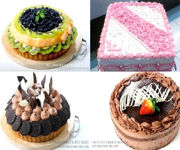 Jenis Kue Tart Untuk Ulang Tahun