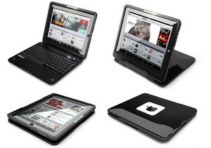 Crux360 clamshell-keyboard case turns your iPad into a netbook
