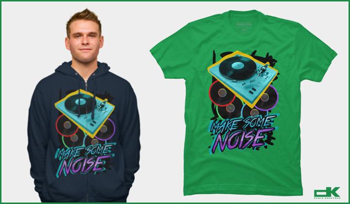 Fashion Club T-shirt! Make Some Noise!