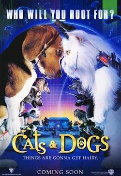 Cuộc Chiến Chó Và Mèo 1 - Cats & Dogs (2001) Poster