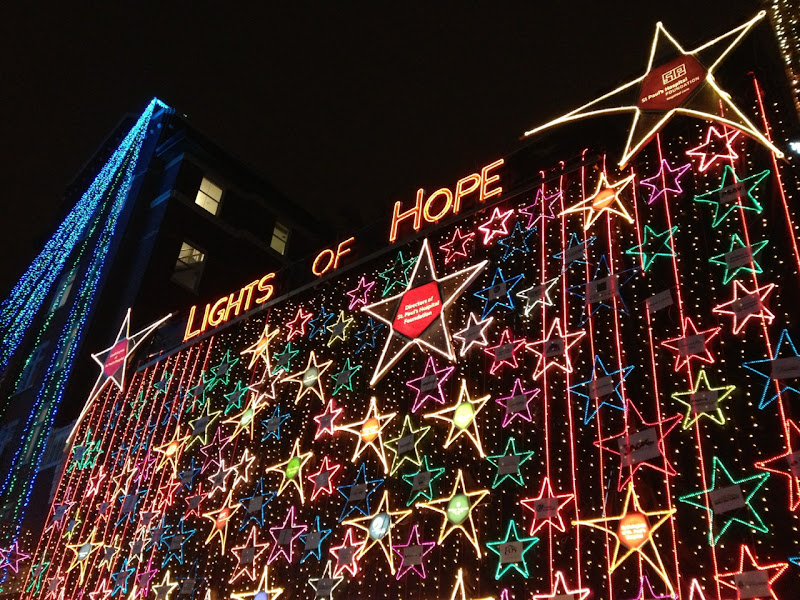 St Pauls Hospital Lights of Hope