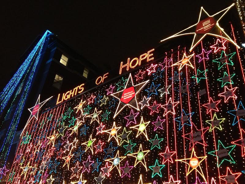 St Pauls Hospital Lights of Hope