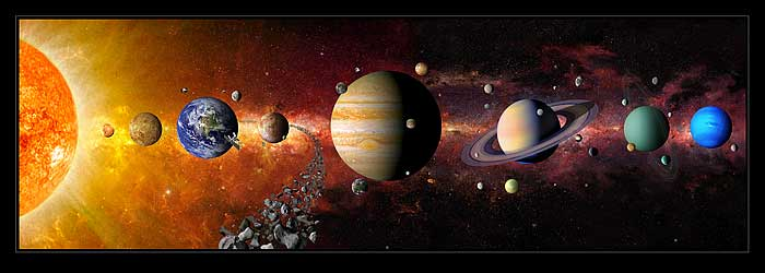 solar system earth and mars - photo #47