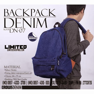 http://limitedshoping.com/crows-denim-bag/denim-backpack_dn-07