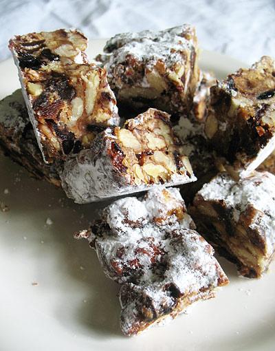 Santa's Panforte | Lisa's Kitchen | Vegetarian Recipes | Cooking Hint...