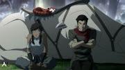 Pabu, Naga, Korra, and Mako