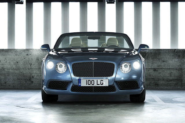 2013 Bentley Continental GTC V8 Front Exterior