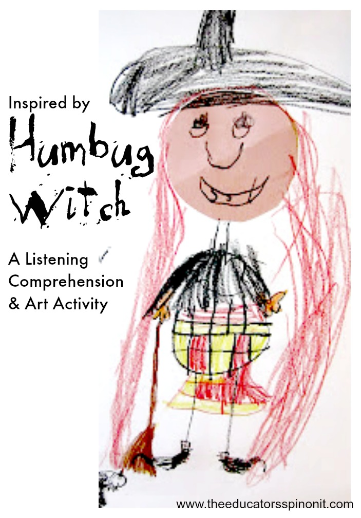 Humbug Witch Inspired Listening Comprehension and Art Activity