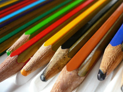 pencils in a in