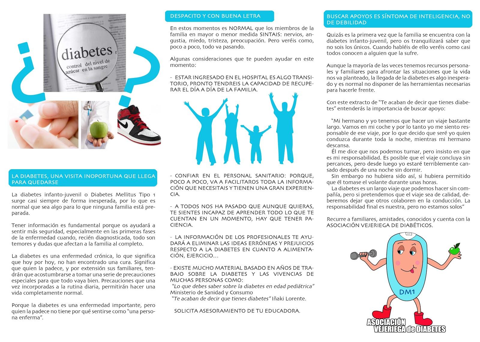 Programa de Acogida a niños/as y jóvenes con diabetes