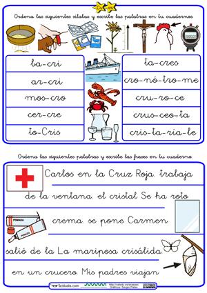 http://www.actiludis.com/wp-content/uploads/2012/07/Ordenar-palabras-y-frases-con-trabadas-Cr.pdf