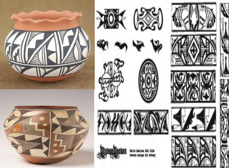 Pottery of native american heritage