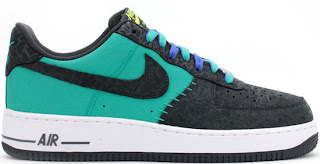 03/30/2013 Nike Air Force 1 Low \u0026quot;Godzilla\u0026quot; 488298-304 Atomic Teal/Anthracite $90.00