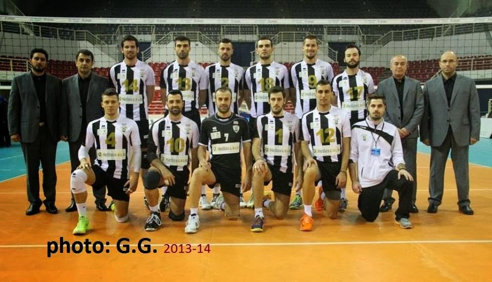 Ομάδα βόλεϊ ανδρών 2013-2014