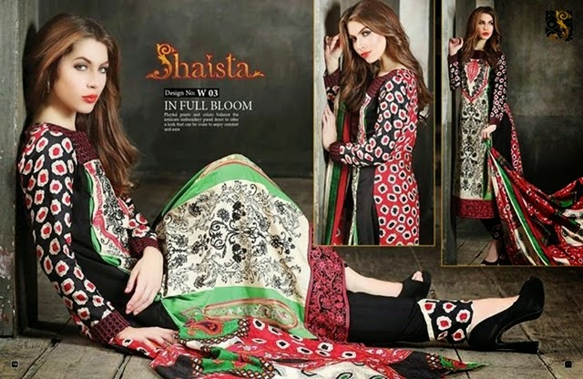 Shaista Winter Dresses