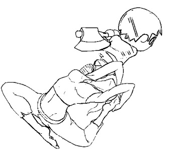 #9 Wii Fit Trainer Coloring Page