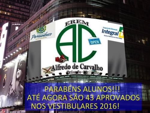 EREM ALFREDO DE CARVALHO - 2016