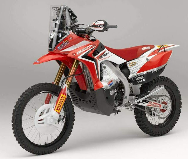 2013 Honda CRF 450 Rally - 2013 Dakar rally bike