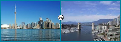 Toronto vs Vancouver