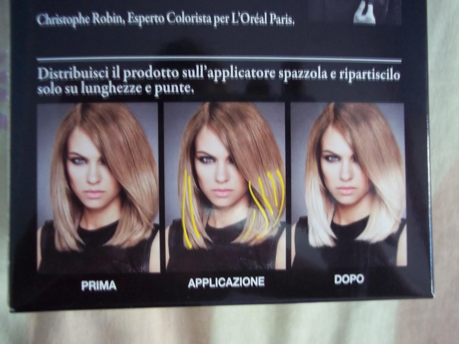 Comprare in deposito in linea di una maschera per capelli