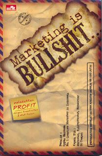 Jual Marketing is Bullshit Online Surabaya