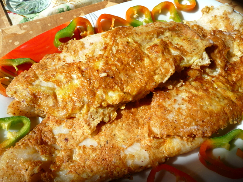 Splendid low carbing by jennifer eloff breaded fried fish for Carbs in fried fish