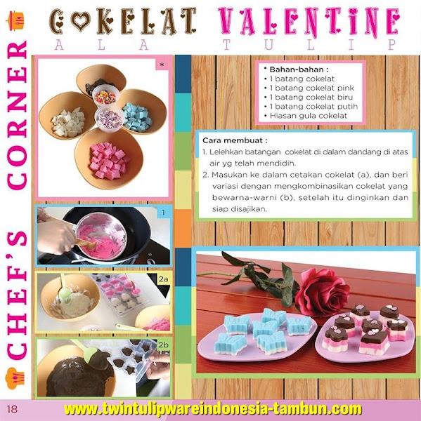 Chef's Corner : Resep Coklat Valentine