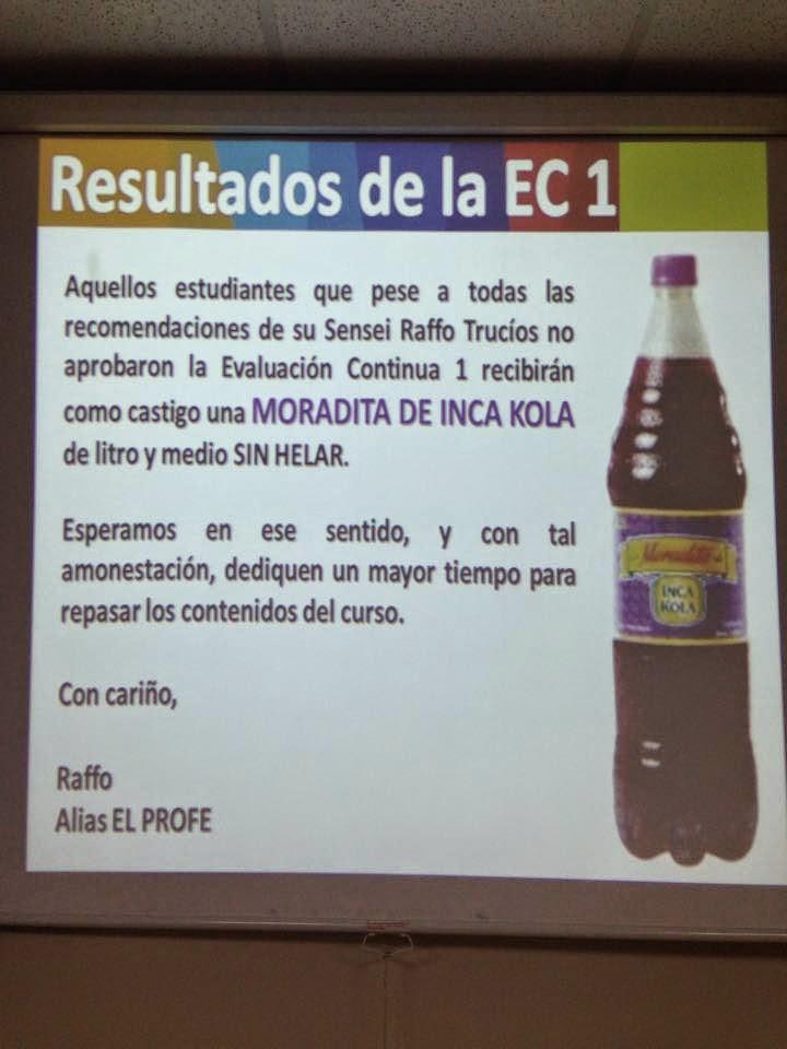 HUMOR -  Seguimos encontrando memes y fotos graciosas de la Moradita de Inca Kola  www.latinfail.com